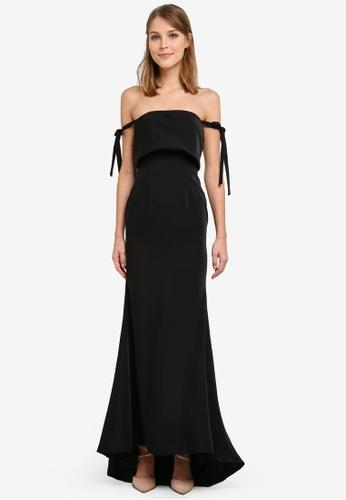 JARLO LONDON black Brianna Dress JA676AA0SAXQMY_1