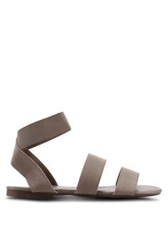 4d4d1b463 Nose brown Elastic Band Flat Sandals 7CD07SH64D4946GS 1