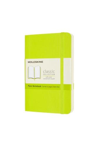 Moleskine green Classic Notebooks Plain Soft Green Pocket 9A459HL423CAE2GS_1