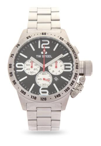 TW Steel silver CB4 Canteen Bracelet Analog Watch TW310AC0KMARPH_1