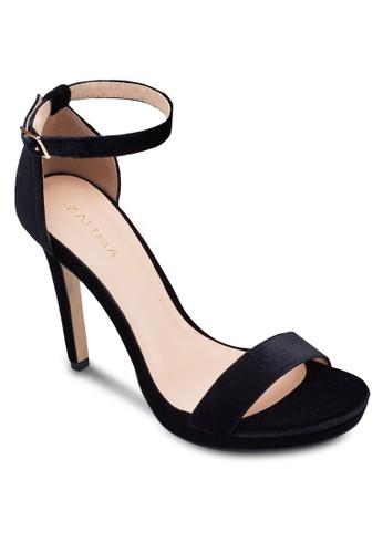一字帶esprit暢貨中心繞踝厚底高跟鞋, 女鞋, 鞋