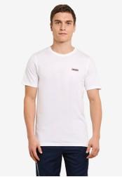 2GO white Short Sleeve Round Neck T-Shirt 2G729AA0S5YWMY_1