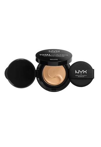 NYX Professional Makeup beige NYX Professional Makeup Total Control Mesh Cushion Foundation -SHELL D0603BE04D07B3GS_1