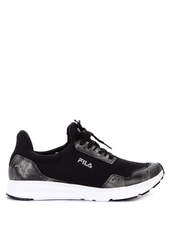 Fila black Cammo Running Shoes D4AA1SHCE9B29CGS_1