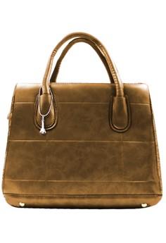 Cyril Leather Shoulder Bag