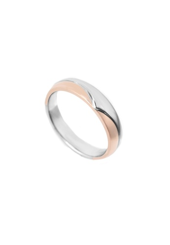 GOLDHEART gold GOLDHEART Evermore Ring (Male), White Gold & Rose Gold 750 (EBE-R4854) D92DAACFA51865GS_1