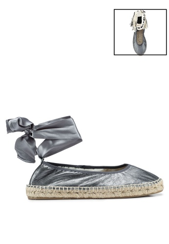 Free People grey Maya Wrap Espadrilles Flats 0D504SH6C3B241GS_1