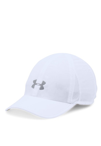 Under Armour white and silver Shadow Cap UN337AC0SU3IMY_1