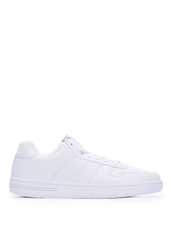 Life8 white Casual Metal Buckle Shoes -09858-White AFC96SH9216B26GS_1