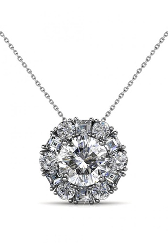 Her Jewellery silver Her Jewellery Sunshine Pendant with Necklace Chain with 18K Gold Plated 561F6ACE52A585GS_1