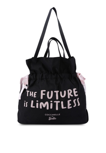 Coccinelle black Coccinelle For Barbie Bucket Bag AE0B2ACA73C33BGS_1