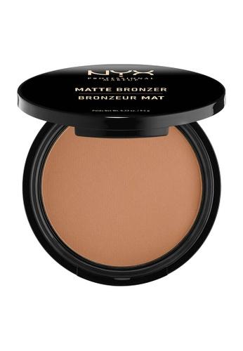 NYX Professional Makeup brown NYX Professional Makeup Matte Bronzer - MEDIUM 5226DBE9E4521FGS_1