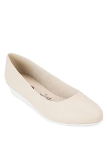 Elisabetesprit home 台灣h 基本款低楔形鞋, 女鞋, 厚底楔形鞋
