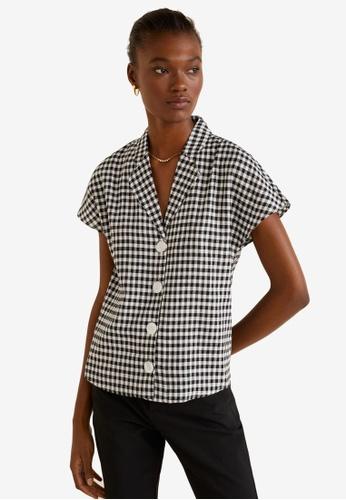 485b20a7c92 Buy Mango Camp-Collar Linen-Blend Shirt Online on ZALORA Singapore