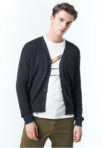 Sisley grey Knitted Sweater E9755AA28805A6GS_1