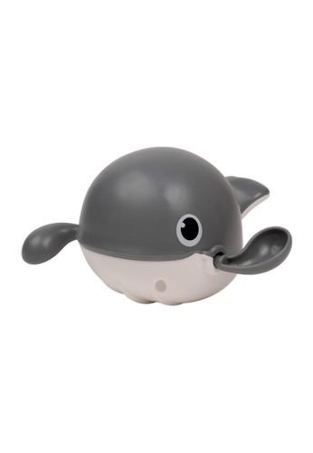 IQAngel grey IQANGEL WHALE WATER TOYS Grey / Mainan Mandi Anak  / Mainan Kolam Renang Anak / Mainan Air Bayi Ikan Paus Berenang 5F1BATHEFFDAA8GS_1