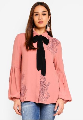 Desigual pink Birma Shirt 3D19CAA312D3CAGS_1