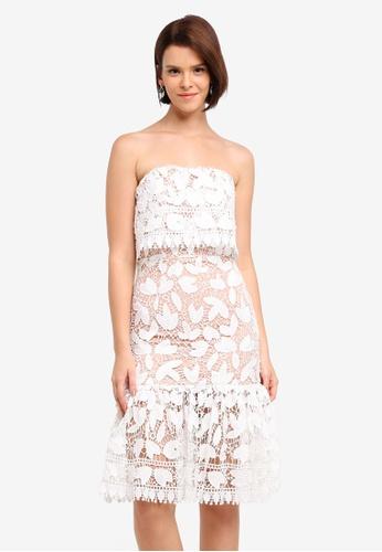 JARLO LONDON white Annora Dress D3284AA9FC6F31GS_1