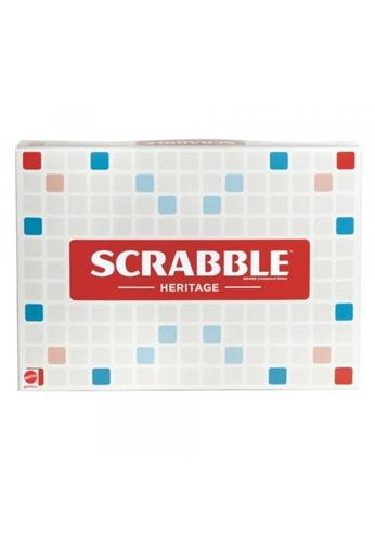 Mattel Games beige Scrabble Deluxe Heritage 20EE9KCAC081DCGS_1