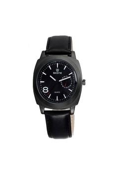 Skone Leather Wrist Watch