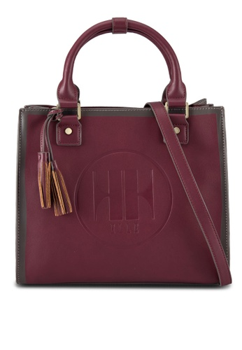 ELLE red Elly Twin Handle Bag EL900AC84WUDMY_1