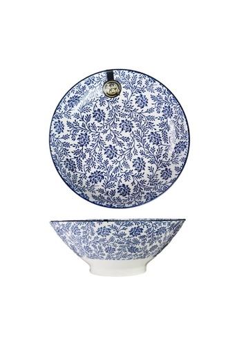 Table Matters multi Floral Blue - 9 inch Ramen Bowl 973DDHL3084FE3GS_1