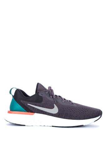 Nike grey Men's Nike Odyssey React Running Shoes 5465ESH8485B19GS_1