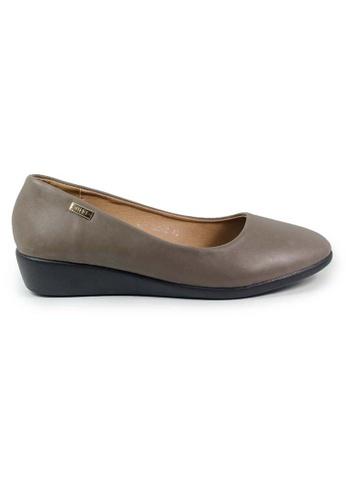 BNC grey Women Formal Pump Shoe 00E2ASH809A8B1GS_1