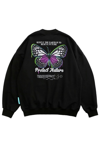 Twenty Eight Shoes Butterfly Printed Sweater 1370W20 F6F55AACF783DFGS_1