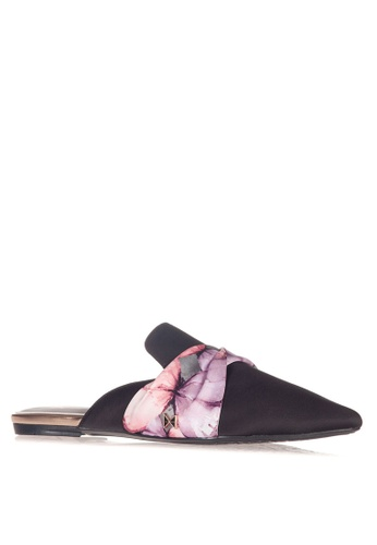 Butterfly Twists black Oriana Mules 66604SH35FCC8AGS_1