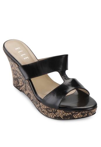 Elle Shoes black El 30066 EL820SH19VVWID_1