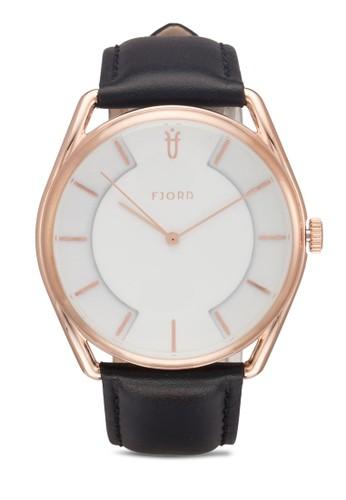 VIGDIC 三指針皮革錶, 錶類zalora 折扣碼, 飾品配件