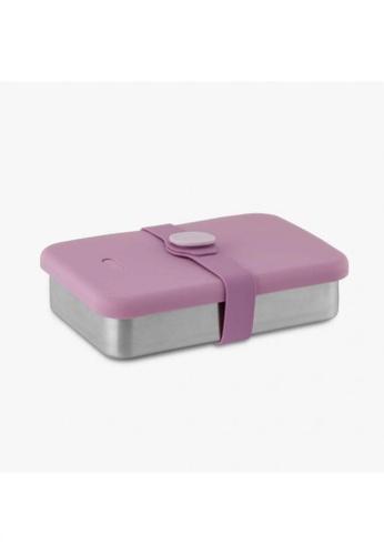 Viida [VIIDA] The Morgen Series Kasten Stainless Steel Lunch Box Bento Set with Leak-proof lid, Purple - LFGB Germany, FDA & SGS Certified Safe 1AB9DHLE51555DGS_1