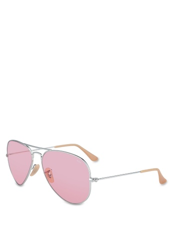 4544a3c7a2b4 Shop Ray-Ban Aviator Large Metal RB3025 Sunglasses Online on ZALORA  Philippines