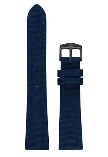 Undone blue Undone Blue Cordura Strap 20mm (Black Buckle) UN712AC2VEK4HK_1