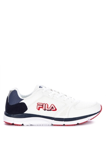 Fila white Access Running Shoes 1036CSH1FC4218GS_1