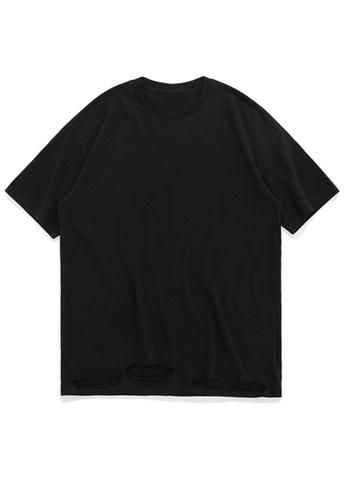 Twenty Eight Shoes Stylish Cut Short T-shirt 1064S20 E8E3EAAEE04331GS_1