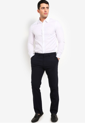 9198b789dac8f2 Buy Calvin Klein Oxford Non-Stretch Slim Shirt - Calvin Klein Jeans Online  on ZALORA Singapore