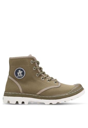 Knight green Hi Top Sneakers KN875SH0RF8FMY_1