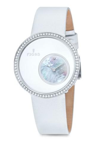 Helga 小時區zalora退貨水晶錶, 錶類, 淑女錶
