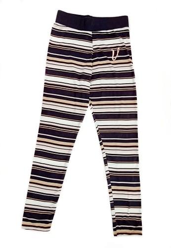 Versail black Versail Teen Legging salur 3 Warna 72EF2KA562F499GS_1
