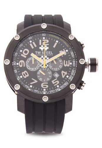 TW Steel black TW610 Grandeur Tech Analog Watch TW310AC0KM8RPH_1
