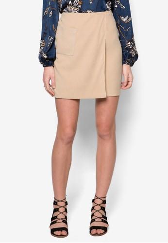 裹式短裙, esprit暢貨中心服飾, 服飾