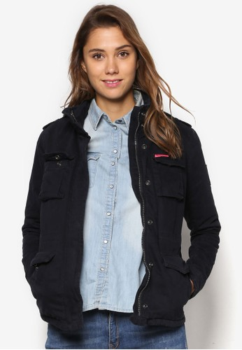 Winter Rookie 軍事風外套、 服飾、 服飾SuperdryWinterRookie軍事風外套最新折價