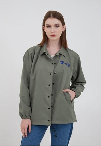 Berrybenka Label grey Women Coach Jacket Tomato Soup Grey ED58EAA4D31BB5GS_1