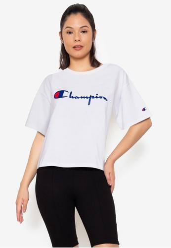 Champion white Crop Tee D5554AA254081FGS_1