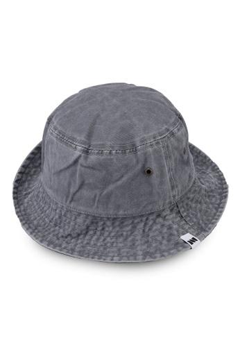 Milliot & Co. grey Trinidad Bucket Hat D82C1AC753D665GS_1
