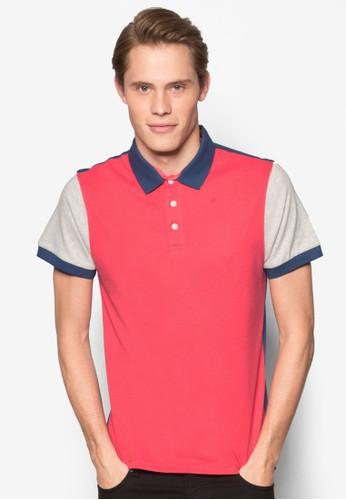 色塊POLO 衫, 服飾, esprit暢貨中心Polo衫