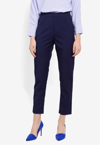Zalia navy Tailored Pants 7FA5CAAA5E9223GS_1