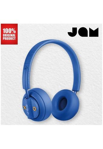 Jam Audio blue Headphone Bluetooth Wireless Out There Jam Audio - Blue 5322EESBDB902CGS_1
